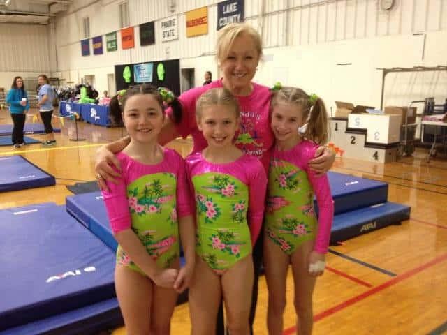 leendas island adventure gymnastics meet
